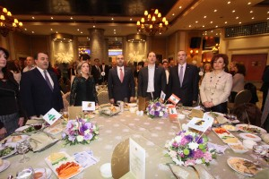 Head of Kataeb Party MP Sami Gemayel During a Meeting For The Engineering Syndicate at Regency Palace Hotel 1