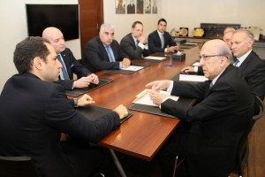 Head of Kataeb Party MP Sami Gemayel Meets Mr Joseph Tarabay  1