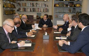 Head of Kataeb Party MP Sami Gemayel Meets Mr Joseph Tarabay  4