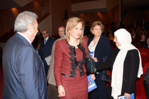 Honoring Ceremony For Ms Hiam Saker at The UNESCO 4