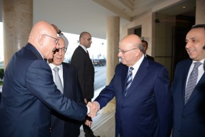 Inauguration of The 20th Annual Arab Banking Office at Phoenicia Hotel  2