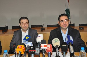 Joint Press Conference For Minister Wael Abou Faour & Hussein Haj Hassan 1