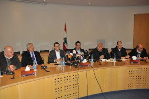 Joint Press Conference For Minister Wael Abou Faour & Hussein Haj Hassan 2