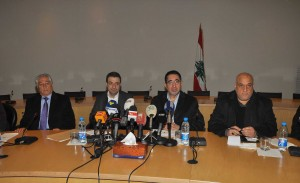 Joint Press Conference For Minister Wael Abou Faour & Hussein Haj Hassan 3