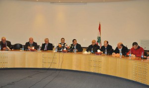 Joint Press Conference For Minister Wael Abou Faour & Hussein Haj Hassan 4