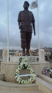 Kataeb Party Lays a Wreatk on The Martyrs of 14TH of March Martyrs 7