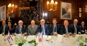 Lunch Hosted By Legion D honneur ih Honors of Former Minister Ghassan Saleme  3