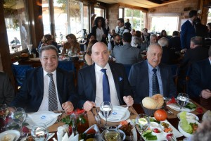 Lunch Hosted By Minister Alain Hakim in Honors of The Media 1