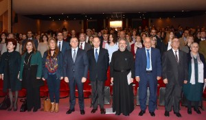 Minister Elias Bou Saab Attends a Conference on The reality of Official Exams at The UNESCO 1