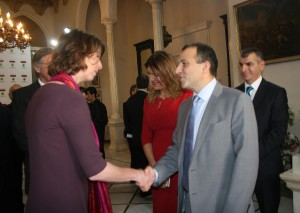 Minister Gebran Basil Meets The Consular Corps 2