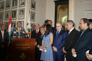 Minister Gebran Basil Meets The Consular Corps 4