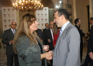 Minister Gebran Basil Meets The Consular Corps