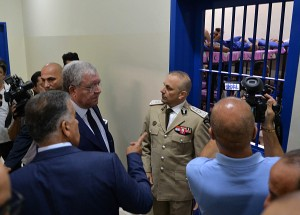 Minister Nouhad El Machnouk Inaugurates The Detention Center at the General Security  2