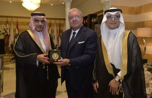 Minister Nouhad El Machnouk Meets Saudi Minister of State for Arabian Gulf Affairs Thamer Sabhan 5
