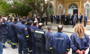 Minister Nouhad El Machnouk Meets a Delegation From The Civil Defence 1