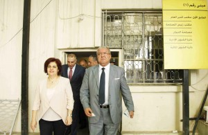 Minister Nouhad El Machnouk Tours at The General Directorate of Traffic Department 1