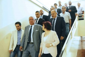 Minister Nouhad El Machnouk Tours at The General Directorate of Traffic Department 2