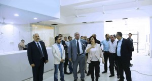 Minister Nouhad El Machnouk Tours at The General Directorate of Traffic Department 4