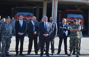 Minister Nouhad El Machnouk Tours at Thre Fire Depaertment 3