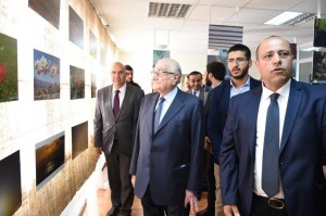 Minister Ramzi Jreij Inaugurates an Exhibition at The Faculty of Information at The Lebanese University 1