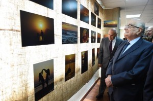 Minister Ramzi Jreij Inaugurates an Exhibition at The Faculty of Information at The Lebanese University2