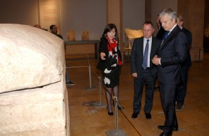 Minister Raymond Araiji & Belgium Minister of Foreign Affairs Tour at The National Musuem 4