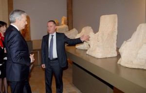 Minister Raymond Araiji & Belgium Minister of Foreign Affairs Tour at The National Musuem 5