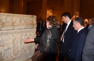 Minister Raymond Araiji & Italian Pr Minister Tour at The National Musuem 3