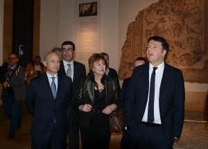 Minister Raymond Araiji & Italian Pr Minister Tour at The National Musuem 4