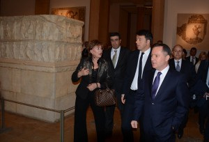 Minister Raymond Araiji & Italian Pr Minister Tour at The National Musuem 5
