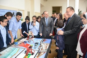 Ministers Elias Bou Saab & Mohamad El Machnouk Inaugurates The Twenty-First Century Skills Through The Teaching of Science, Technology, Engineering & Mathematics 1