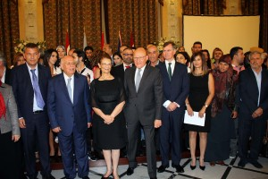 Pr Minister Tammam Salam Attends a Workshop at The Grand Serail ( Risks & Resource Maps ) 1