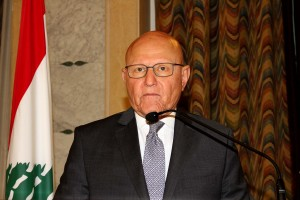 Pr Minister Tammam Salam Attends a Workshop at The Grand Serail ( Risks & Resource Maps ) 2