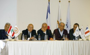 Press Conference For Al Machrek Hospital  1