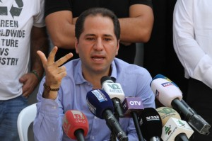 Press Conference For Head of Kataeb Party MP Sami Gemayel 1