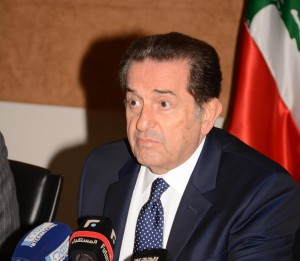 Press Conference For Minister Boutros Harb 2