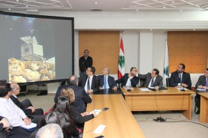 Press Conference For Minister Boutros Harb 3