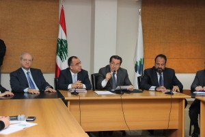 Press Conference For Minister Boutros Harb 4