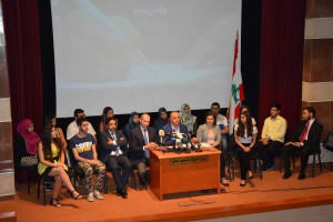 Press Conference For Minister Elias Bou Saab 1
