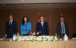 Press Conference For Minister Sejaan Azzi (1)