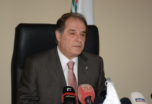 Press Conference For Minister Sejaan Azzi 1