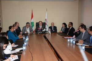Press Conference For Minister Sejaan Azzi 2 (1)