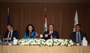 Press Conference For Minister Sejaan Azzi 2 (2)