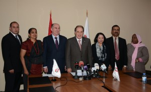 Press Conference For Minister Sejaan Azzi 3 (1)