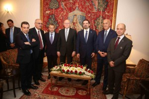 Reception Ceremony Hosted By The Lebanese Embassy in Saudi Arabia in Honors or Pr Minister Tammam Salam  1