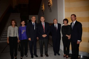 Reception Hosted by the French Ambassador in Honors of Mr Francois Abi Saab 3