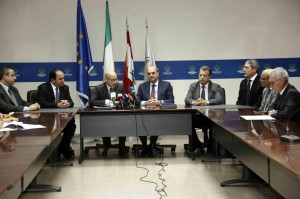 Signature of a Memorandum of Understanding between the Italian government &  the Ministry of Energy and Water  3