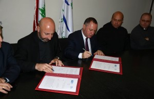 Signing Agreement  Between Minister Raymond Araiji & USEK ,Louaize Universities 1