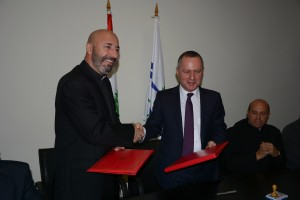 Signing Agreement  Between Minister Raymond Araiji & USEK ,Louaize Universities 2
