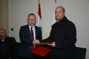 Signing Agreement  Between Minister Raymond Araiji & USEK ,Louaize Universities 4